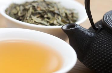 Cup of Organic Green Tea