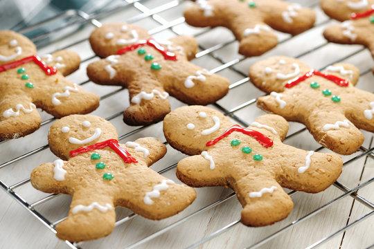 Gingerbread Man on Rack