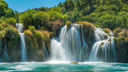 Fotobehang Watervallen Wonderful Waterfall