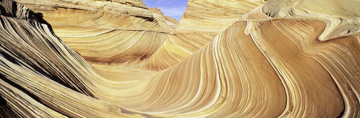 Sandstone swirls in Paria Canyon near the Arizona/Utah border, United States of America