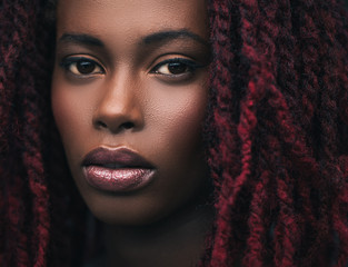 African Woman With Dreadlocks