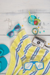 Sunglasses, Snorkel and Goodies for a Fun Day on the Water
