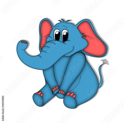 слон рисунки картинки
