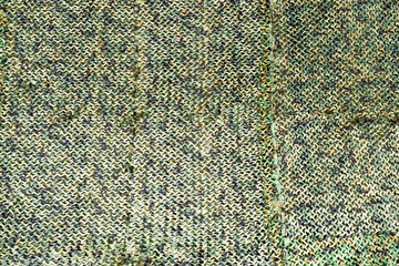 Green military camouflage net with different shade