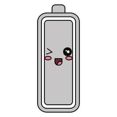 battery level kawaii character vector illustration design