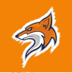 wolf head mascot logo