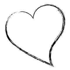 heart love card icon vector illustration design