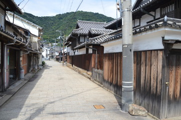 Old House At Alley In Tomonoura Japan 2016