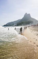 Beach of Ipanema in Rio de Janeiro, Brazil