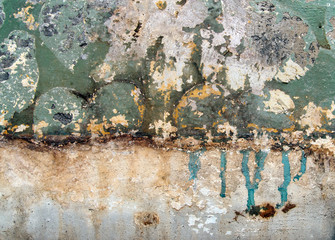 Background from old wall before repairs