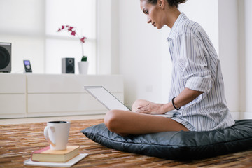 Woman's work - woman working from home