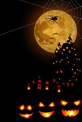 ハロウィン カボチャ 秋 背景