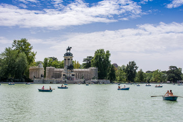 Boats in Madrid