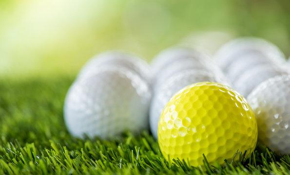 golf ball row
