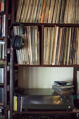 Vinyl room corner