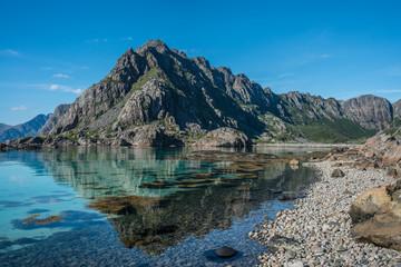 Norweigan mountain landscape