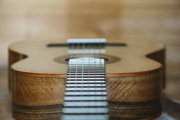Handcraft acoustic guitar details