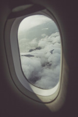 Clouds from a Window Seat