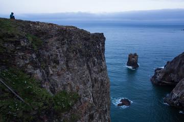 Waking up on the Oregon Coast
