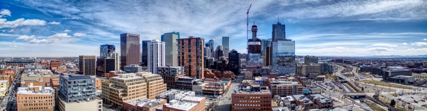 Downtown Denver Pano Southeast
