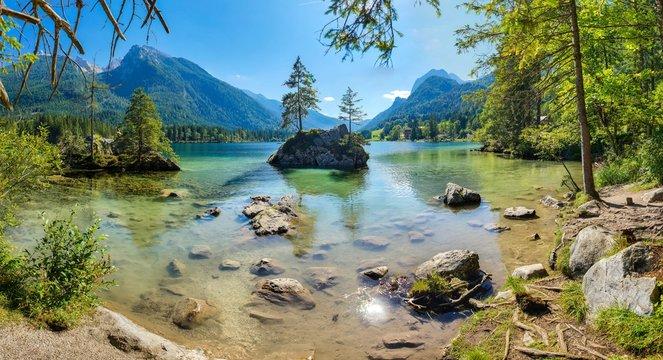 Berge Alpen Königsee Österreich Deutschland See