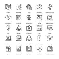 Web Design and Development Vector Icons 3