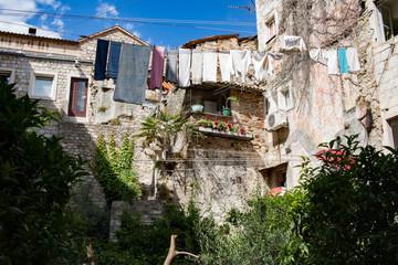 Verträumter Innenhof in Split