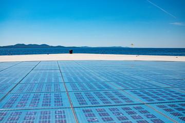 Der Sonnengruß in Zadar