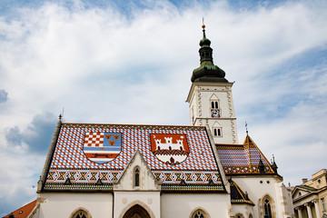 Die St. Markus Kirche in Zagreb