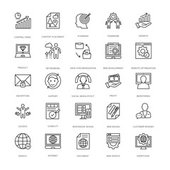 Web Design and Development Vector Icons 11