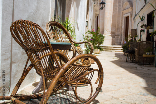 Cool Rocking Chair Italian Street Stock Photo And Royalty Free Gmtry Best Dining Table And Chair Ideas Images Gmtryco