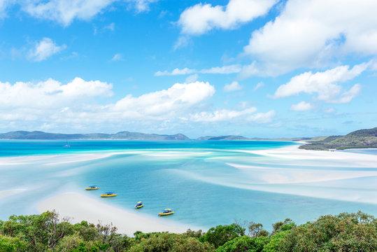 Whitehaven Beach,  Whitsunday Island, Australia.