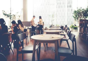 Blur coffee shop,cafe,restaurant,workspace for backgrounds idea