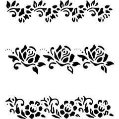 cornici floreali