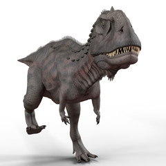 majungasaurus frontal walk