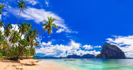 amazing wild beauty of Philippines islands. Palawan, El Nido