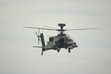 Military attack helicopter