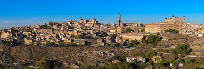 Panoramic view of Toledo city