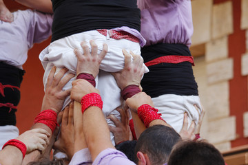 Castellers in Catalonia