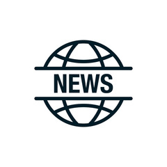 news world - Simple icon
