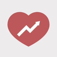 Isolated heart with a graph