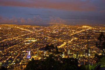 【コロンビア】ボゴタの夜景