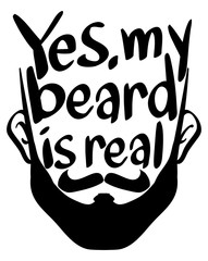 Word expression for my beard is real