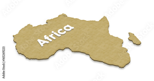 Map Of Africa 3d.Map Of Africa 3d Isometric Illustration Stock Photo And Royalty