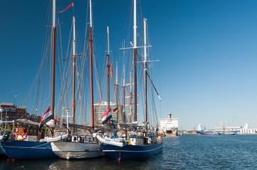 Traditionssegler als Gast zur Kieler Woche