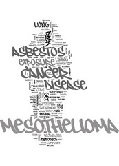 MESHTHOLIOMA CANCER CURE TREATMENT Text Background Word Cloud Concept
