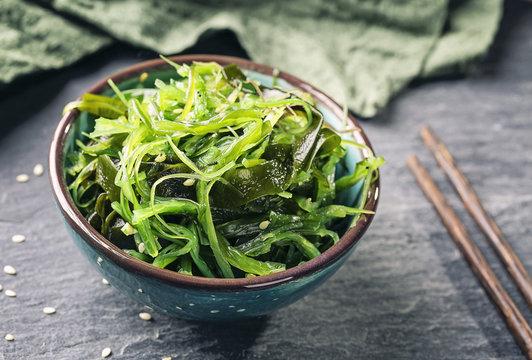 Japanese seaweed salad