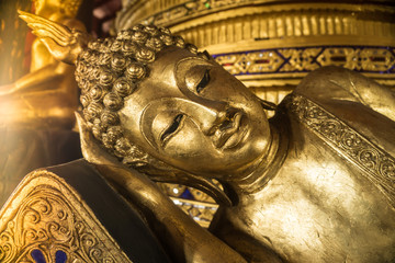 Faith of Golden Buddha