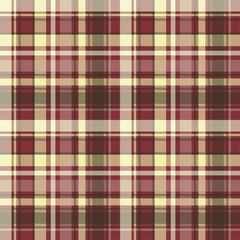 Brown check plaid seamless pixel fabric texture