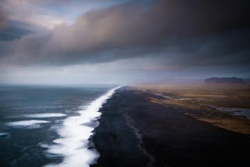 Lavastrand nähe Kap Dyrhólaey, Island